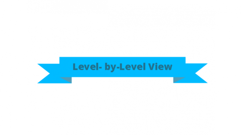 Level-by-Level view in Flair3D