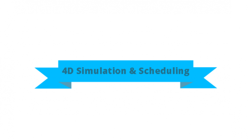 4D Simulation and Scheduling