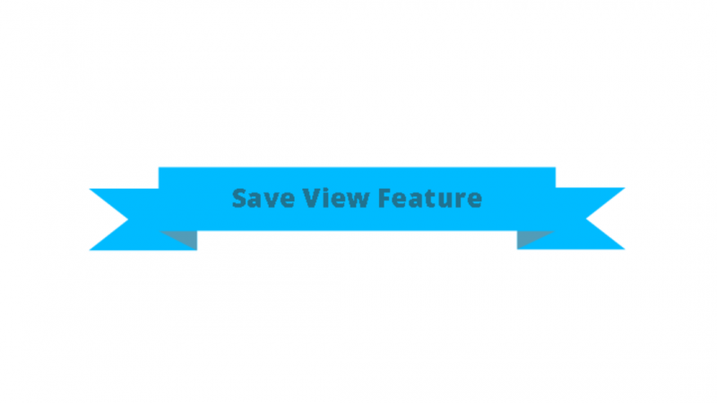 Save View Feature