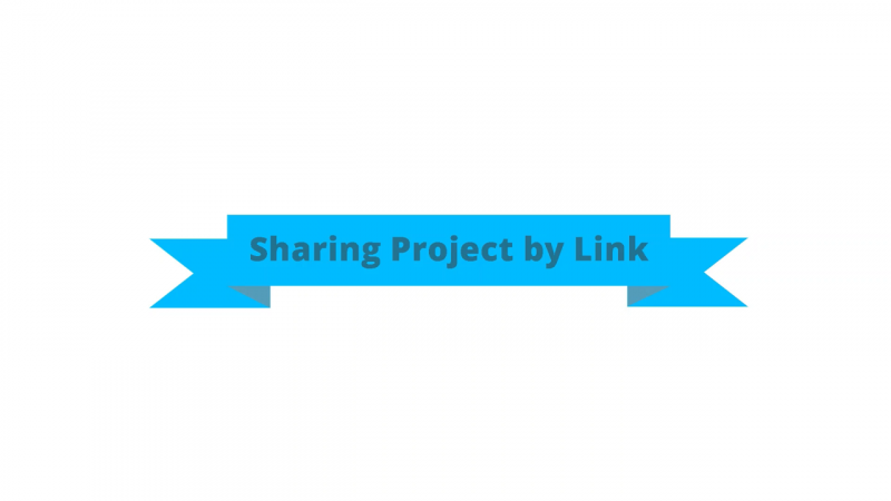 Sharing project by link