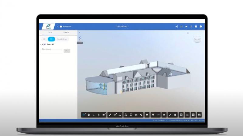 Flair 3D- Digital Twin Viewer